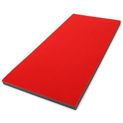 Tappeto Red Mat 200x95x5 cm. con superficie in moquette