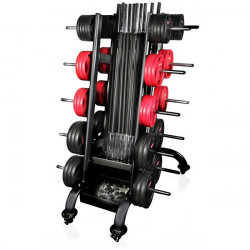 Rack per 15 body pump Gymstick