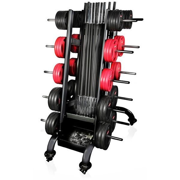 Rack per 15 body pump Gymstick