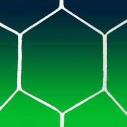 Coppia reti calcio - modello Esagonale
