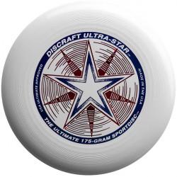 Frisbee UltraStar per Ultimate, da competizione bianco