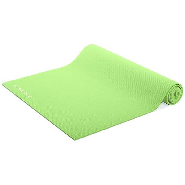 Stuoia arrotolabile Gymstick per Yoga e Pilates, verde lime