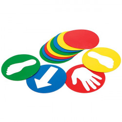 Set di 12 dischi morbidi diametro 21 cm., Educ'o 'Disks