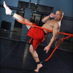 Explosive Kick, elastico per allenamento esplosivo dei calci e dei lanci