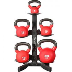 Mini rack Gymstick per kettlebell o palle mediche