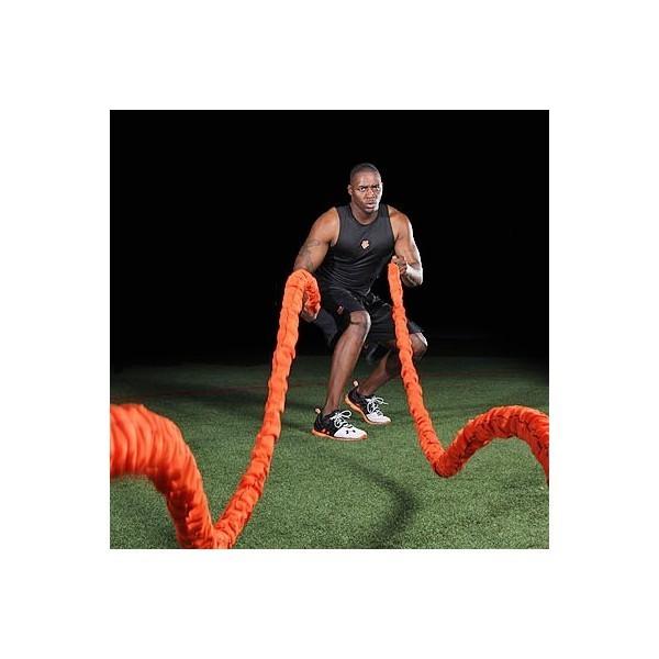 The Beast (Anaconda) Stroops battle rope, elastico da 6,10 mt. da 35 kg.