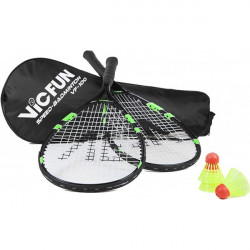Set racchette speed badminton Victor VF100