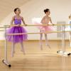 Sbarra danza mobile modello Accademia con bambine che si allenano