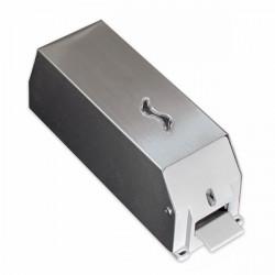 Distributore sapone liquido in acciaio inox 1,2 lt.