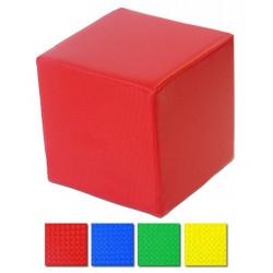cubo imbottito per psicomotricità 40x40x40 cm
