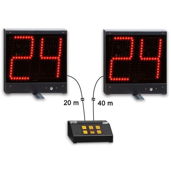 Coppia indicatori 24 secondi