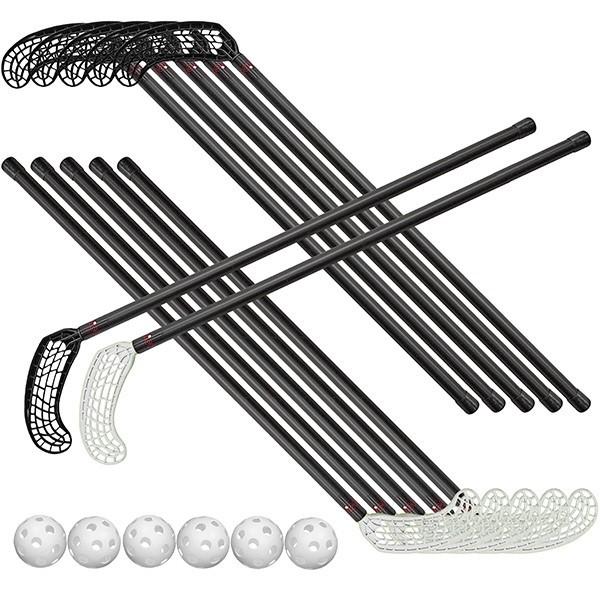Set di mazze e palline per floorball Start Set 95