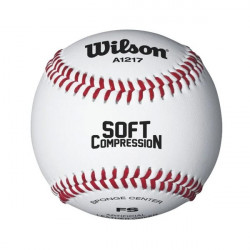Palla da baseball Wilson A1217B soft compression
