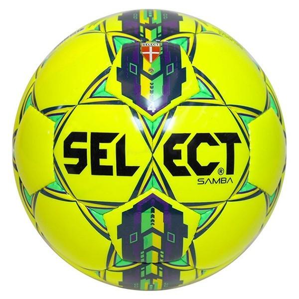 pallone calcio Select Samba misura 4 giallo viola