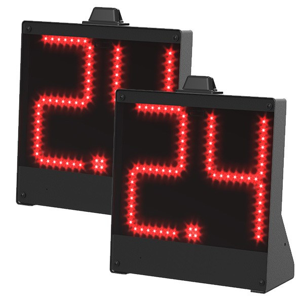 coppia 24 secondi basket e pallanuoto senza fili