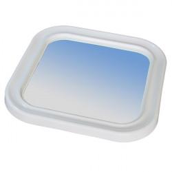 specchio con cornice in ABS per servizi comunitari