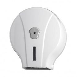 porta carta igienica per rotoli 200 mt in ABS bianco