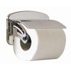 porta rotolo carta igienica inox a parete