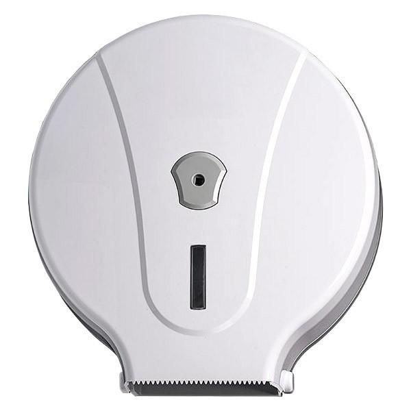 porta carta igienica jumbo 400 mt in ABS bianco
