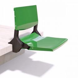 sedile per tribuna con aggancio a gradone