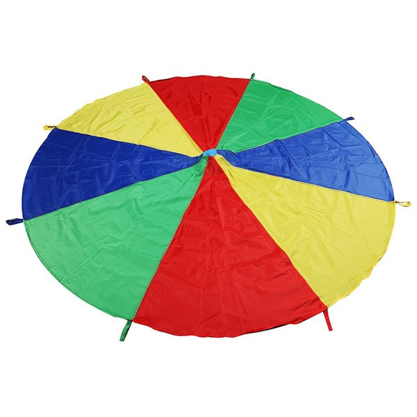 paracadute arcobaleno per psicomotricità