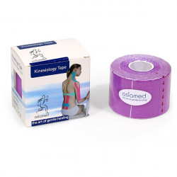 kinesio tape viola, latex free, 5 mt x 5 cm