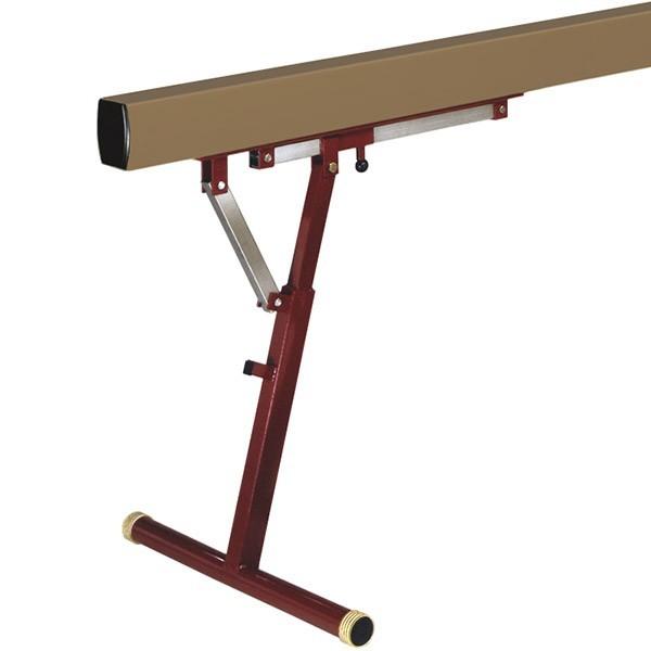 trave ginnastica regolabile 50 120 cm