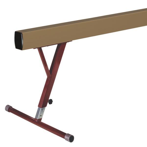 trave regolabile per ginnastica artistica da 80 a 120 cm