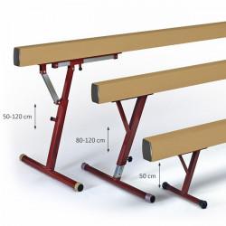 confronto travi equilibrio ginnastica artistica