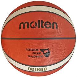 pallone basket Molten BG1600 misura 7 - vista lato marchio FIP