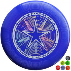 Frisbee UltraStar per Ultimate, da competizione blu e altri colori