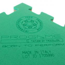 Tatami Judo Trocellen modello Induction 100x100x4 cm multisport logo laser