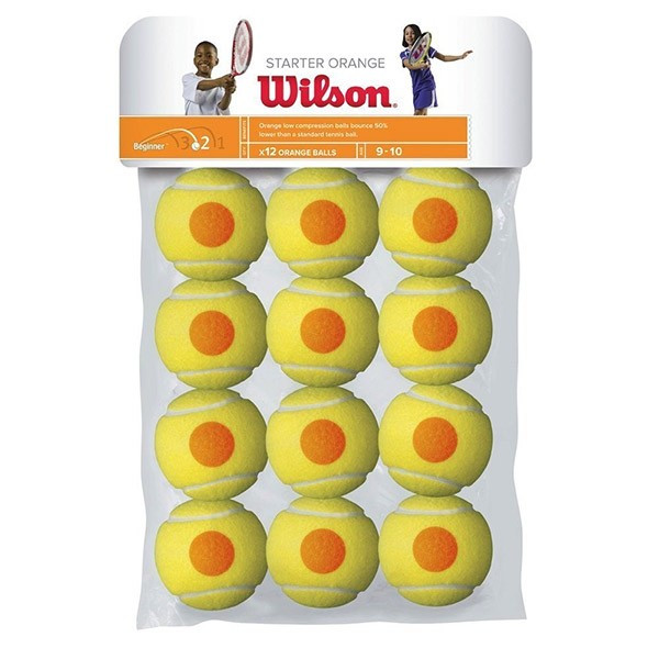 Wilson Starter Orange stage 2  confezione 12 palle tennis