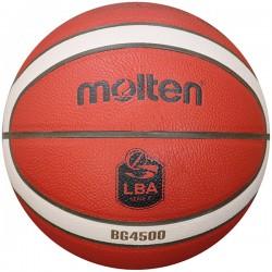 Pallone basket Molten BG4500 con logo Lega Basket Serie A