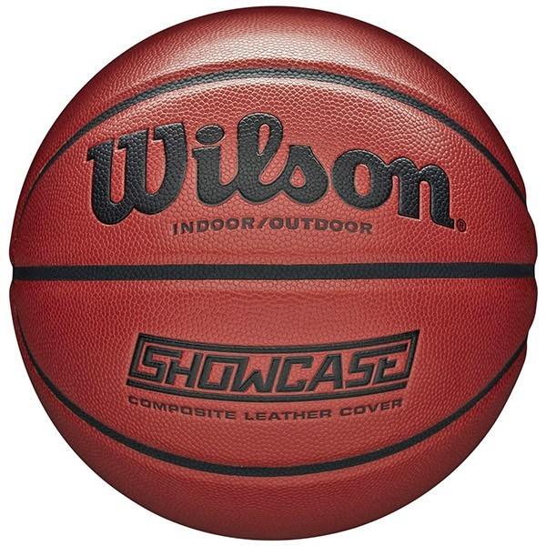 Pallone basket Wilson Showcase misura 7 in pelle sintetica composita