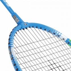 Racchetta per badminton Torro Fighter Plus dettaglio giunto e testa