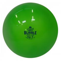 Palla medica morbida Bubble da kg 3, verde