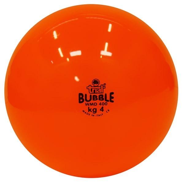 Palla medica morbida Bubble da kg 4, arancione