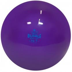 Palla medica morbida Bubble da kg 5, colore viola