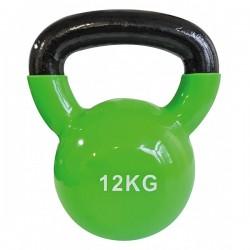 Kettlebell kg 12 rivestita in vinile