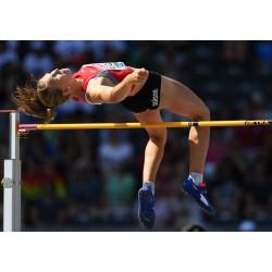 Asticella per salto in alto certificata IAAF modello Getra da competizione - Campionati Europei di Atletica 2018