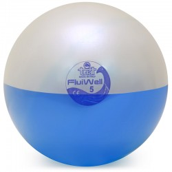 Fluiwell 5 kg, palla medica dinamica - colore blu