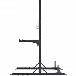 Rack per bilancieri Toorx WLX-3200 vista laterale