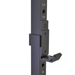 Rack per bilancieri Toorx WLX-3200 dettaglio supporto corto