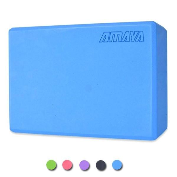 Mattone per yoga 23x15x7,5 cm colori misti