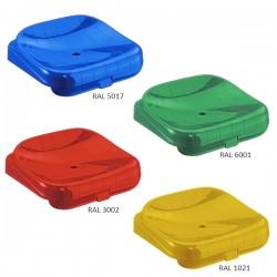 Sedile per tribuna senza schienale | colori standard