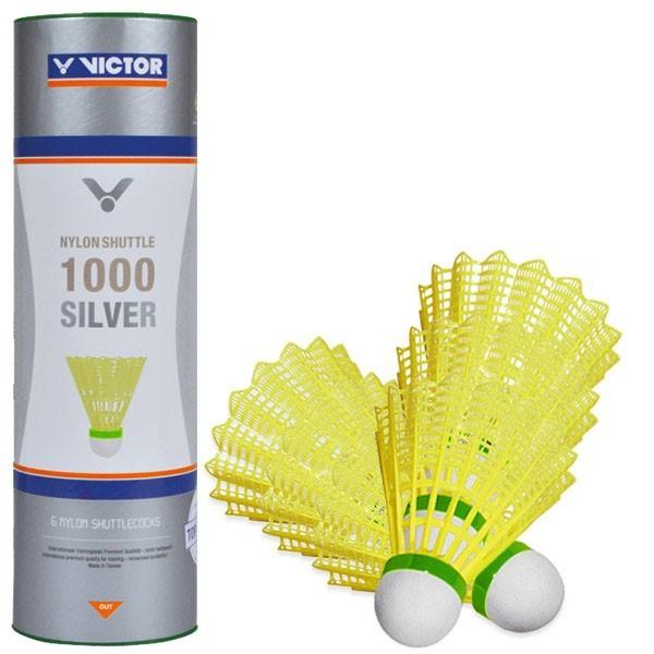 Volani badminton Victor 1000 gialli lenti