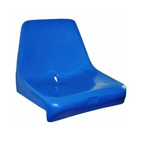 Sedile per tribuna, con schienale alto, non ignifugo