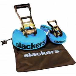 Slackers Slackline Classic da 15 m con cinghia di sostegno