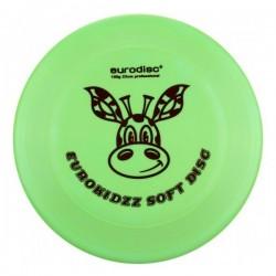 Frisbee Soft per uso professionale e scolastico colore verde